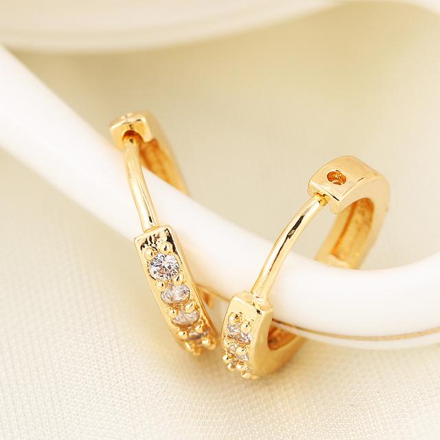 17KM Gold Earrings