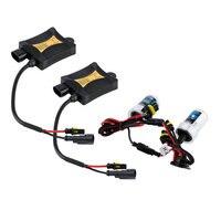 2 stks 12 V 55 W HID kit Xenon Vervangende Lamp Kit H7 Slim Ballast Xenon Hid 6000 K Auto koplampen Nieuwe Dropping Verzending