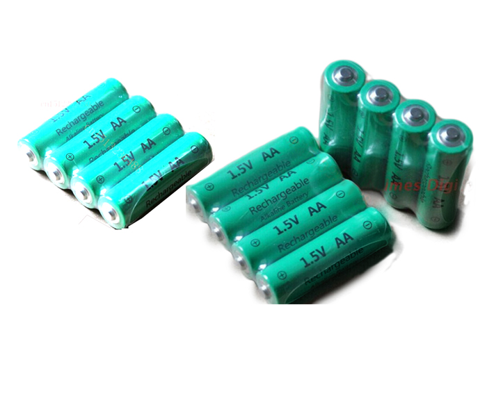 Rechargeable Alkaline Batteries >> 8pcs Lot Aa 3000mah Znmn 1 5v Aa Rechargeable Alkaline