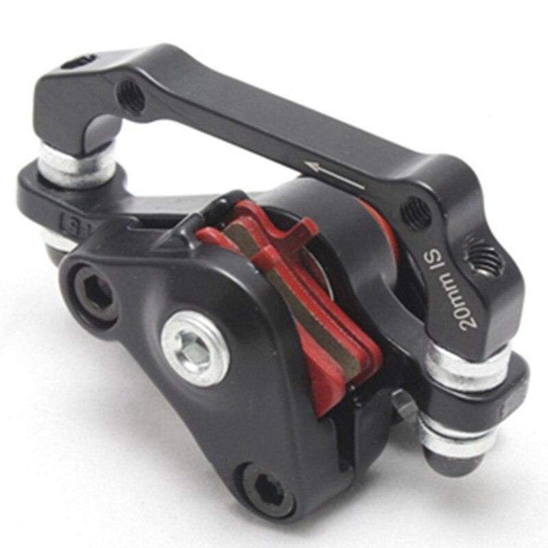 Liga de alumínio da bicicleta freio a disco traseiro preto montanha estrada mtb pinça mecânica freios a disco acessórios ciclismo