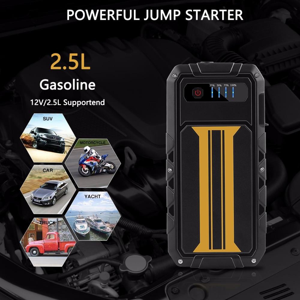 7000mAh Car Jump Starter 400A Car External Battery 12V Vehicle Emergency Battery Booster Multi function Car
