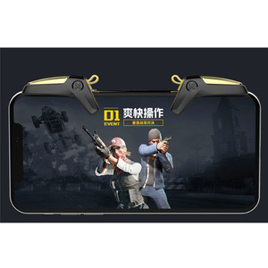 Image 1 - PUBG Mobile Controller Gamepad Trigger For iOS Android L1 R1 Joystick Mobile Games Shooter PUBG Fire Button Aim Key Accessories