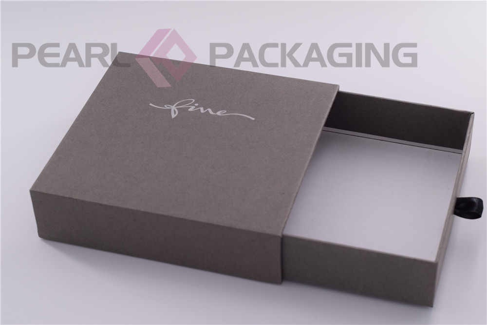 Elegant Drawer Box With Ribbon Puller For Belt Jewelry