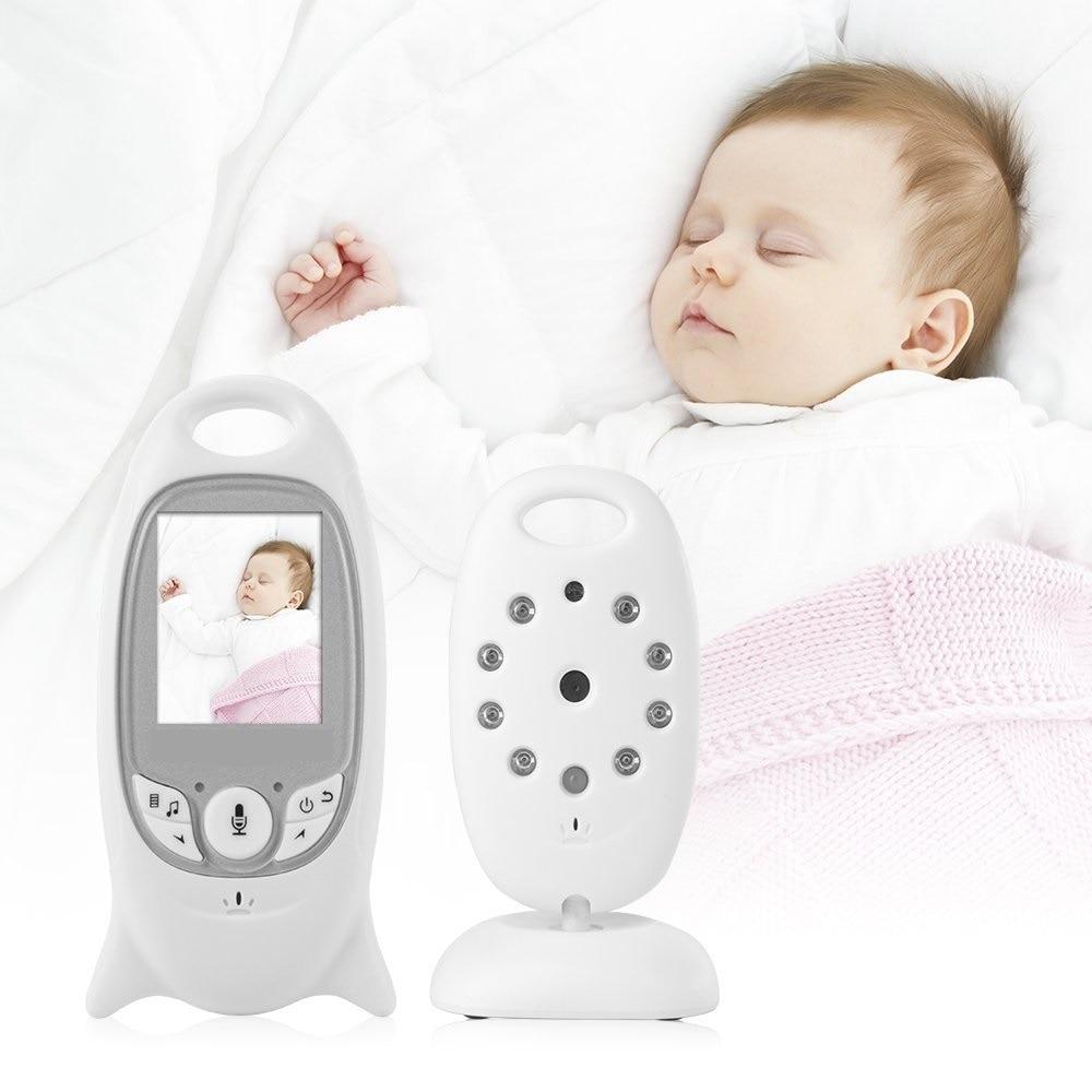 babykam babyphone camera nanny video 2.0 inch IR Night Vision Temperature Sensor Lullaby Intercom baby phone camera radio nanny