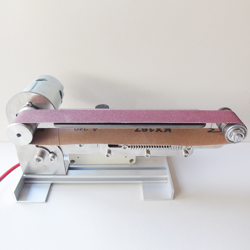 Micro ceinture machine DIY broyage machine De Bureau couteau aiguiseur Mini Ponceuse