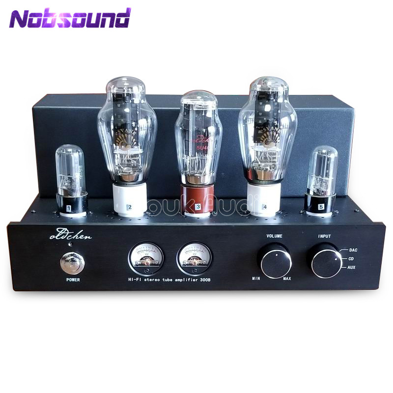 AIQIN Latest HiFi Stereo PSVANE 300B Tube Amplifier Pure Class A Single-ended Amp 9W*2 Power Amplifier Black Chassis стоимость