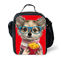 Newest Cute Dog Girls Lunch Bags Multi-function Meal Package Women/Men Portable Insulated Food Case Lunch Bags lunchbox For Kids