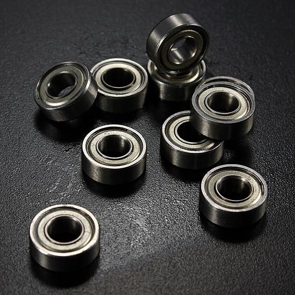 все цены на MTGATHER  10PCS/a Set MR115ZZ 5x11x4mm Miniature Deep Groove Ball Bearing Sealed Metal Steel Shielded Metric Radial онлайн