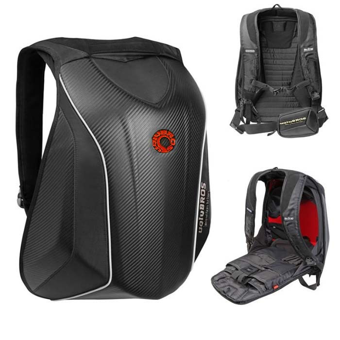 uglyBROS MACH 6  bicycle / motorcycle / outdoor / riding backpack / hard shell backpack / computer bag waterproof protection glory talaris mach 6 wave напольная версия