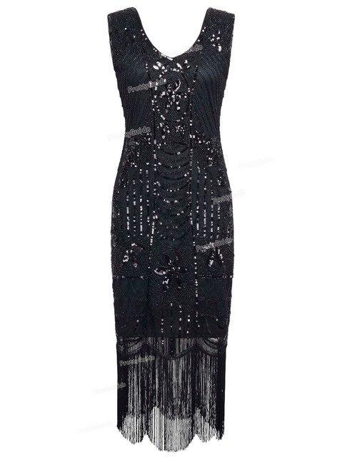 Prettyguide Art Franges De Femmes S Gatsby Deco Sequin 1920 À 1ul3TKFcJ5