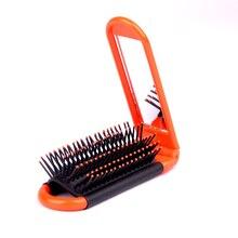 1pc Magic Anti-static Hair Brush Handle Tangle Detangling Comb Shower Folding Massage Comb Salon Hair Styling Tool P351