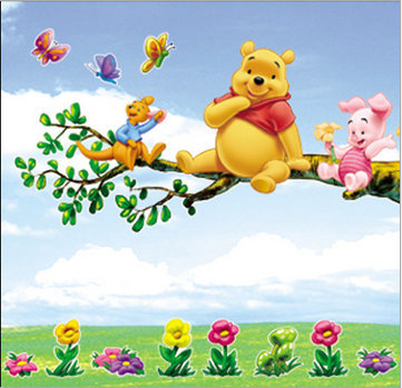 ... Winnie The Pooh Wall Sticker Decal Nursery Wall Dacals Kids Room Decor  ... Part 45