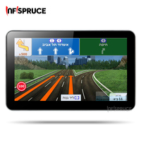 Infispruce 7 Inch GPS Navigation Capacitive Screen Wince6 0 128M 4GB FM Transmitter Multi Languages Free