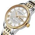 Швейцария карнавал бренд Роскошные мужские часы Авто-ветер часы сапфир reloj hombre 100 м водонепроницаемые relogio часы C8605G-3