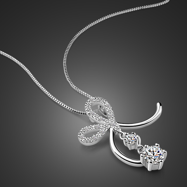 New girls silver jewelry sterling silver flower pendant necklace new girls silver jewelry sterling silver flower pendant necklace solid silver snake chain design birthday present aloadofball Choice Image