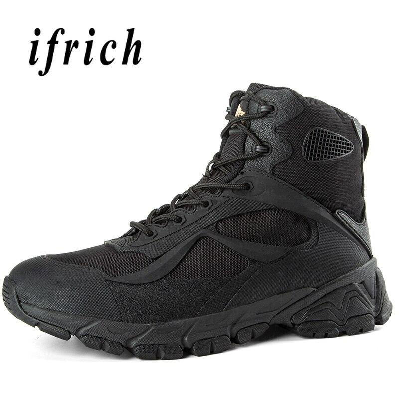Bottes d'entraînement tactiques militaires de marque bottes de Combat noires beiges baskets hautes bottes de désert originales hommes chaussures de sécurité de travail