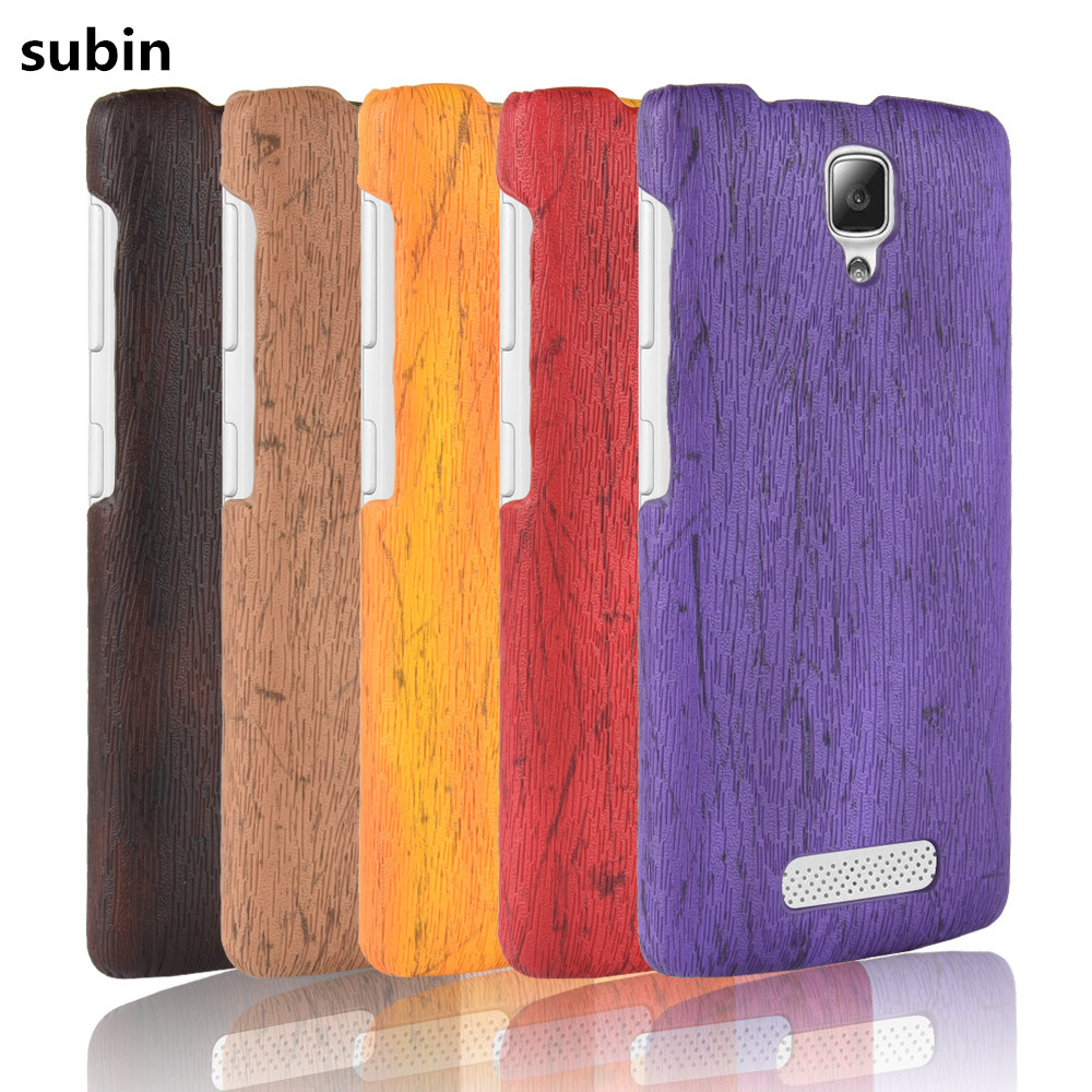 For Lenovo A1000 Phone Case Bumper for Lenovo A2800 PC Plastic PU Leather Cover For Lenovo A1000 A 1000 Wood Cases