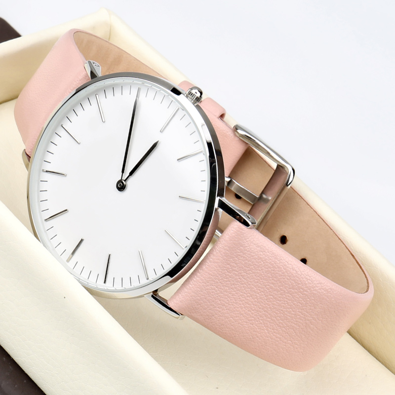 45a342635ef MAIKES Watch Accessories Genuine Leather Watch band Fashion Thin Watch  Bracelet 12mm 24mm Watchband For DW Daniel Wellington-in Watchbands from Watches  on ...