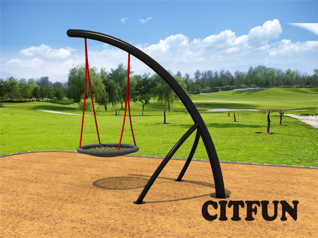 En1176 Round Net Swing Set For Sale Cit Sw283b In Playground From