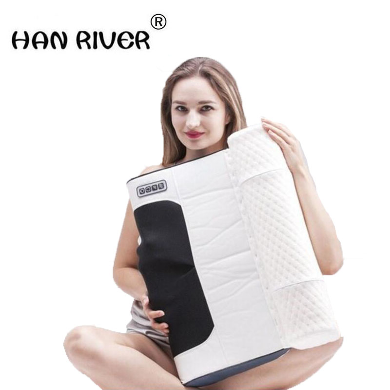 Home repair cervical pillow cervical health care massage pillow electric multi-function kneading massage neck shoulder healthcare gynecological multifunction treat for cervical erosion private health women laser device