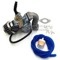 Kabel Choke PZ22 PZ19 Gaźnik 19mm 22mm Z paliwa wąż powietrza filtr oleju filtr PitBike mainfold Dla Motocykli ATV Go Kart Carb