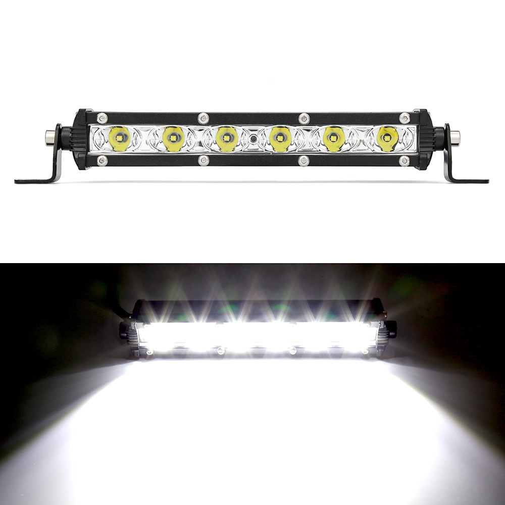 Car LED Work Light Bar LED Lamps Spotlight Lamp 18W 12V Driving Fog Offroad Work Car Light For Ford Toyota SUV 4WD LED Beams