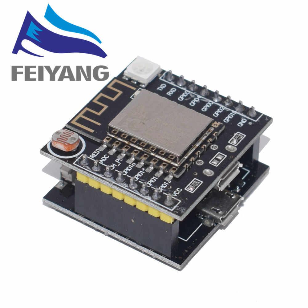 ESP8266 ESP-12F Serial โมดูล WIFI Mini สำหรับ Arduino NodeMcu CH340 Micro USB โมดูลสำหรับ Arduino Witty เมฆ