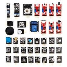 37 em 1 caixa sensor kits/37 sensor kit para arduino de alta qualidade frete grátis