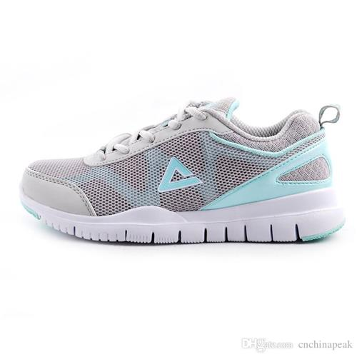 ФОТО PEAK SPORT Women's Running Shoes Good Quality Material Cheap Sports Shoes Breathable and Comfortable E13248H