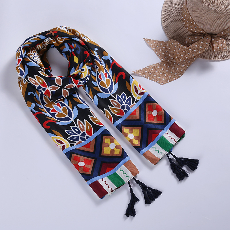 Women Cotton Scarf Ethnic Special Design Long Shawl Bright Color Fashion Large Wrap NEW [3086]