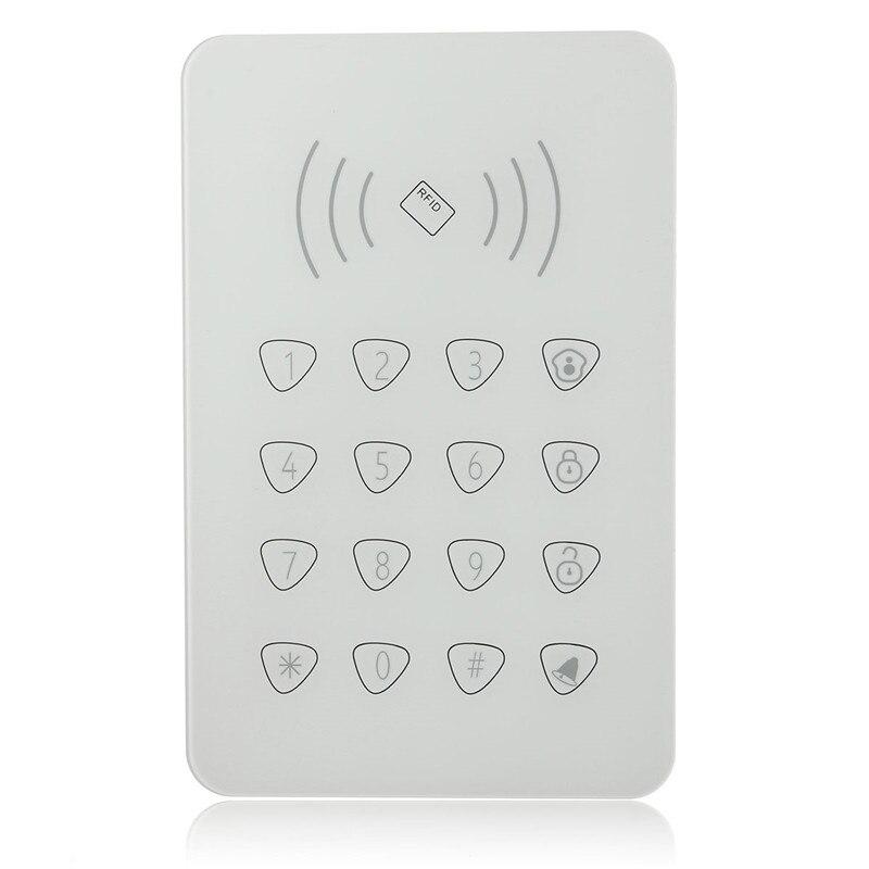 bilder für Berührbaren RFID tastatur für Smart home WIFI GSM alarm, externe Klappschlüssel passwort keypad für G90B G90E Smart Home alarm syst