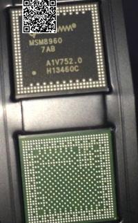 3 pçs/lote 7AB MSM8960 CPU chip ic