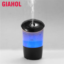 GIAHOL 48ml Mini Essential Oil Diffuser Ultrasonic Car Air Aroma Humidifier USB Compact Fragrance Oil Air Freshener for Car Home(China)