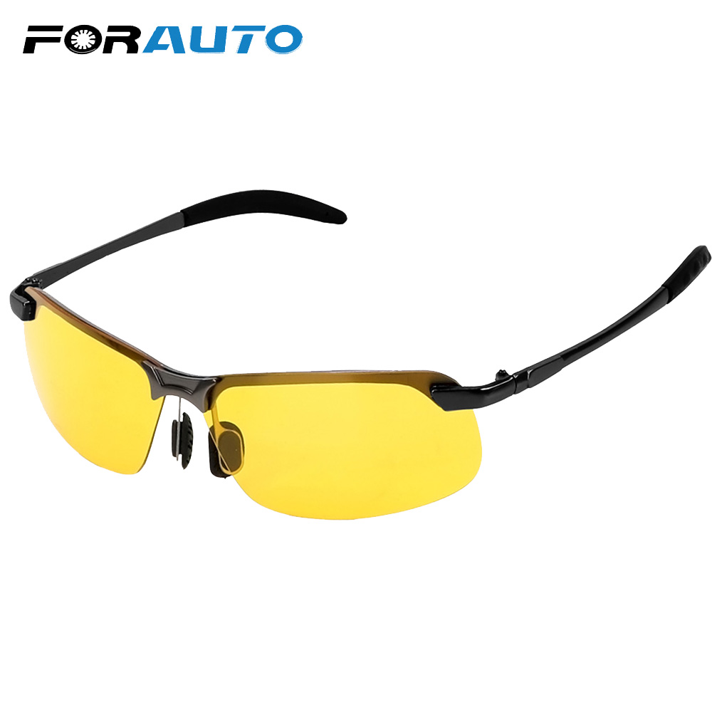 FORAUTO UV Protection Eyewear Car Driver Goggles Polarized Sunglasses Night Vision Sun Glasses UV400 Driving Glasses Car Styling