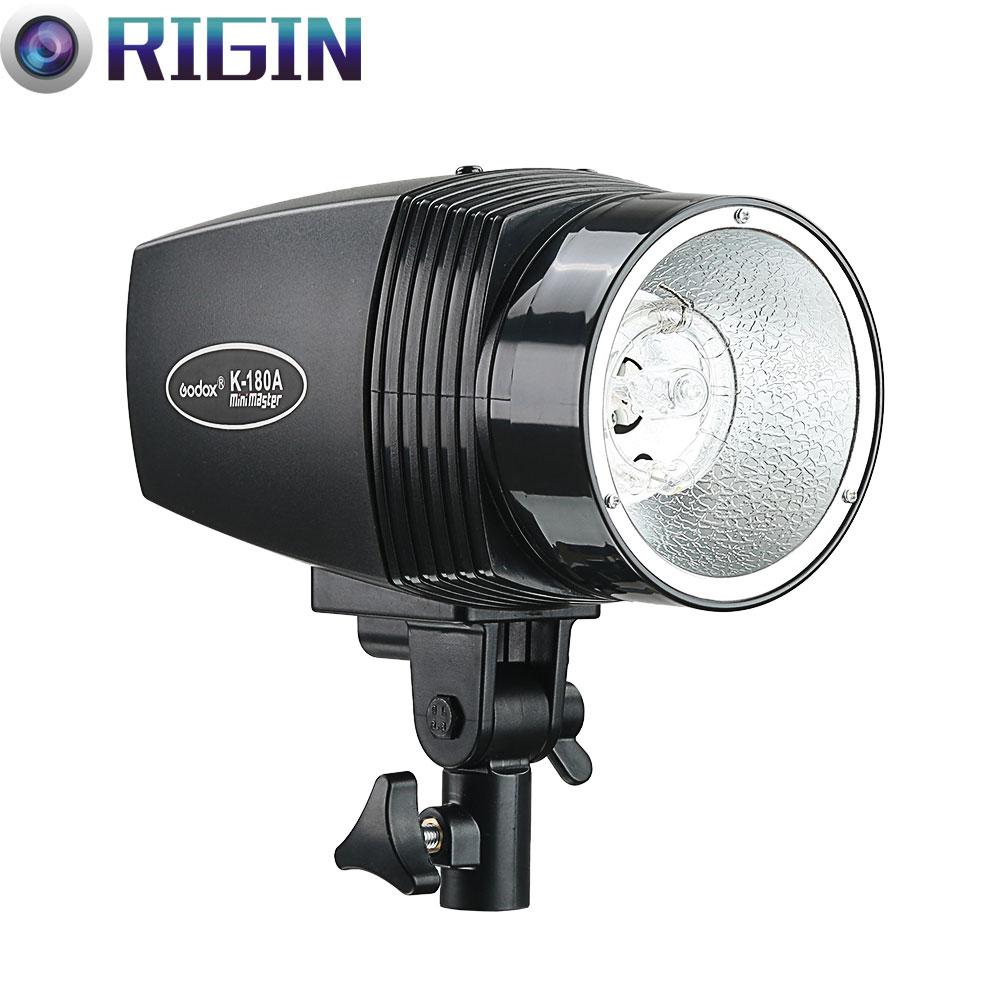 Godox Mini Master Studio Flash K-180A GN45 Power Mas 180WS Lampa - Aparat i zdjęcie