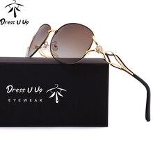 Dressuup Алмаз Роскошные бабочки Солнцезащитные очки Для женщин Брендовая Дизайнерская обувь Винтаж модные Защита от солнца Очки с Чехол Óculos де золь