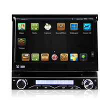 7″ Quad Core Android 4.4.4 1 Din Car DVD GPS One Din Car Radio Single Din Car Multimedia System with External DAB Tuner Support