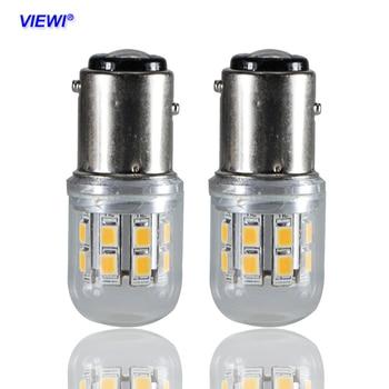 1156 1157 BA15S BAY15D S25 P21W 6 V 12 v 24 v 48 v 2.5 W الزجاج قذيفة سوبر led سيارة بدوره إشارة لمبة السيارات ضوء الفرامل عكس أضواء أنابيب ومصابيح LED مصابيح وإضاءات -