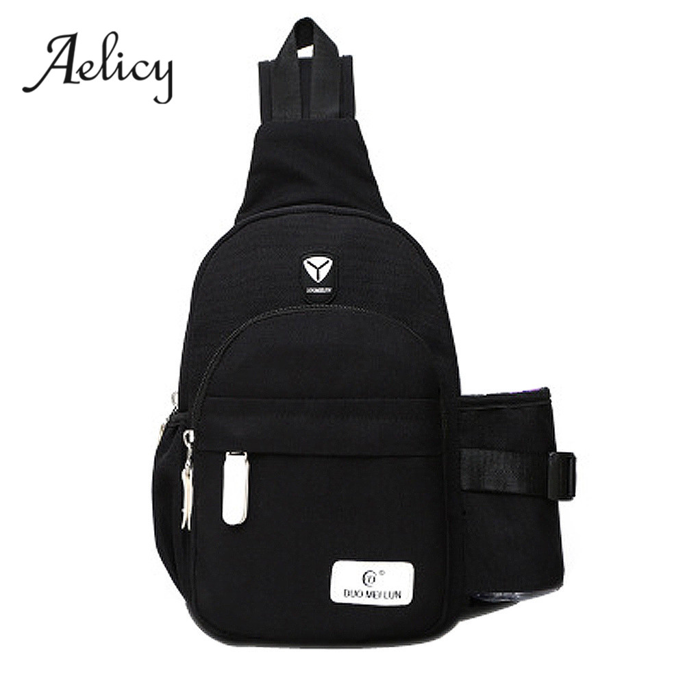 Aelicy High Quality Women Handbag Shoulder Bag Tote Ladies Chest Pack Bag Bolsa Feminina Bolsos Mujer Nylon Chest Bags Bolsas aelicy women fashion handbag crack shoulder bag large tote ladies purse messenger bag solid bag bolsa feminina bags women 0829