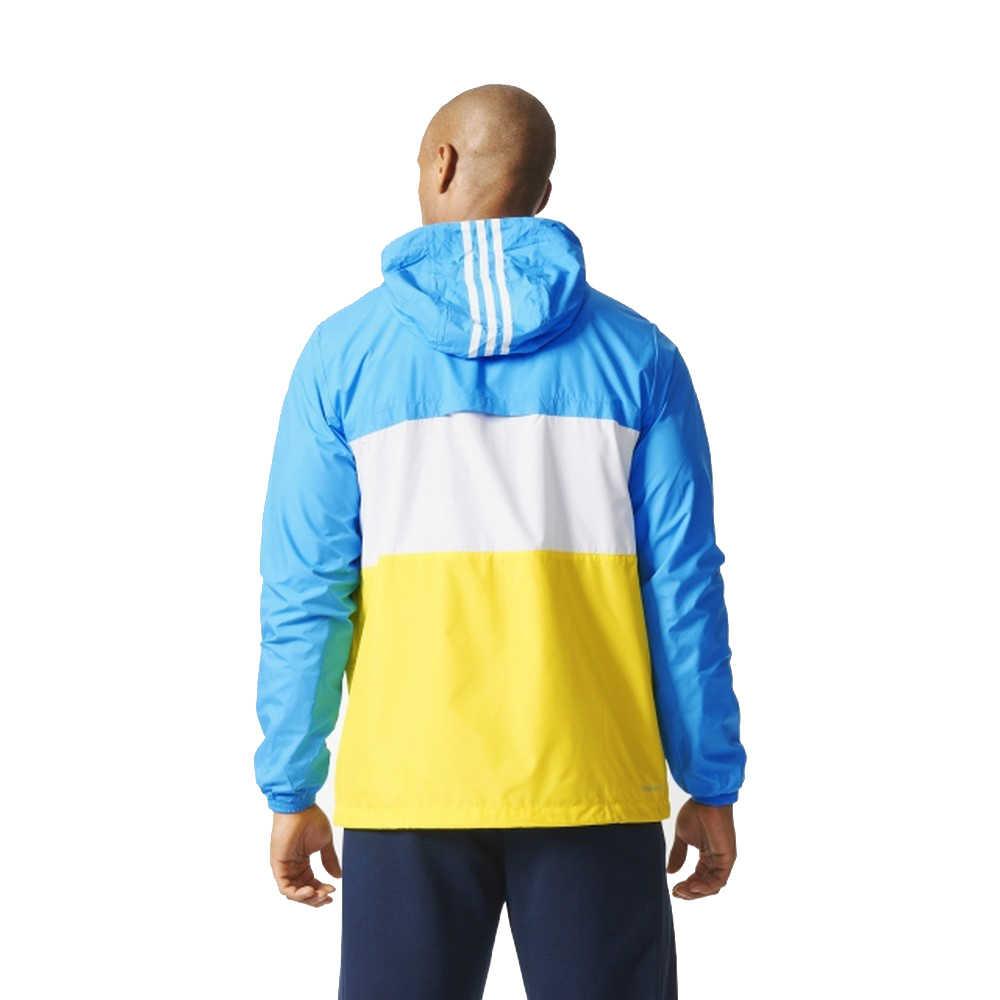 オリジナル新到着アディダスパフォーマンス男性のジャケットフード付きスポーツウェア
