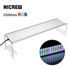 NICREW Chihiros RGB Aquarium LED Light Full Spectrum Lighting for Aquatic Plant Brightness Adjustable Suit 30cm to 80cm Tank