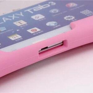 Image 5 - Fall Für Samsung Galaxy Tab 4 10,1 T530 531 T535/Tab 3 10,1 P5200 P5210 P5220 Weiche Silicon Gummi kinder Stoßfest Tablet fall