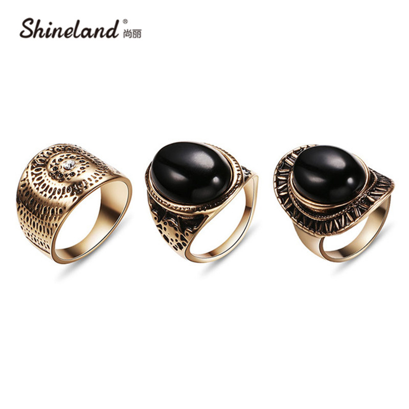 Ring Buy Men Black Gem