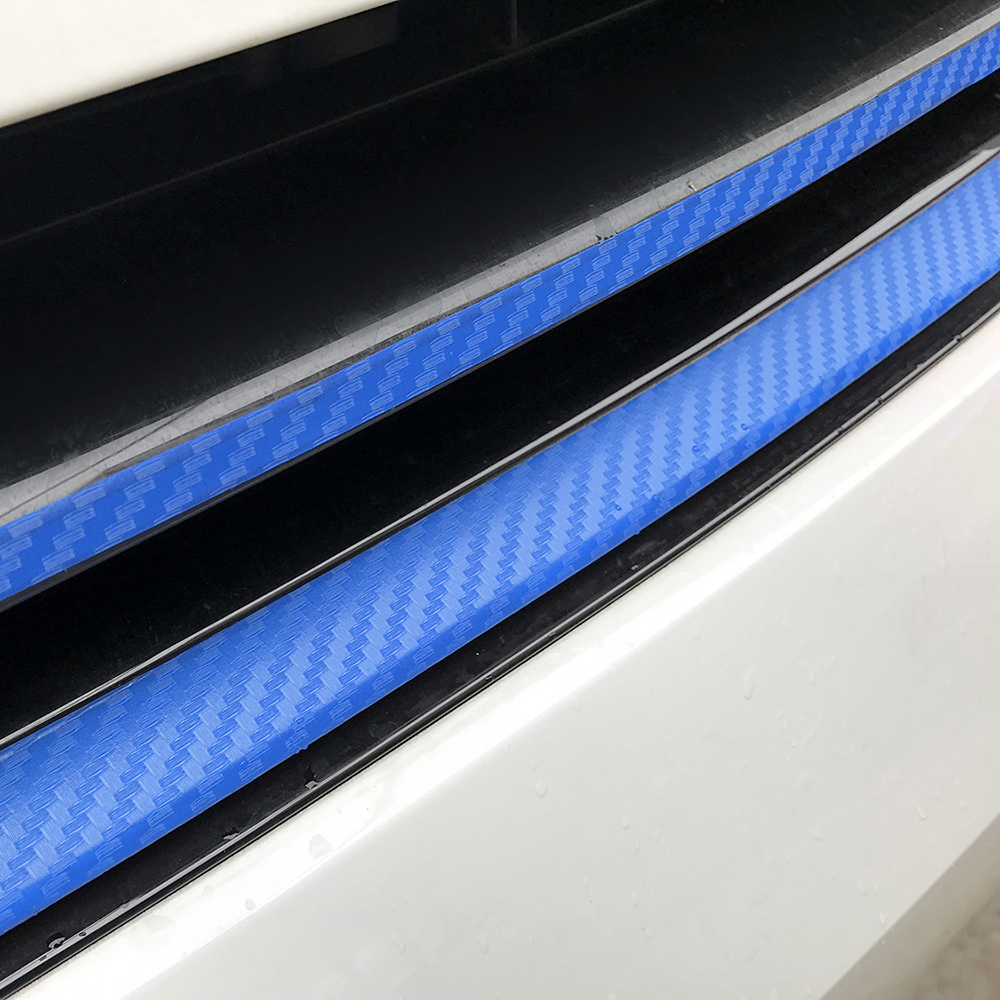 Image 4 - Grille Front Bumper Carbon Fiber Protection Film Car Stickers And Decals Car styling For Volkswagen VW Golf 7 MK7 Accessories-in Car Stickers from Automobiles & Motorcycles