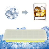 1Pc Kitchen Bar Ice Cube 21 Grids Ice Mould Tool Cool Freeze Mold Maker With Cover