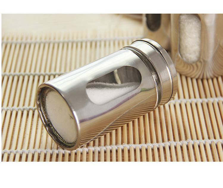 Seasoning shaker kitchen MSG household pepper outdoor barbecue stainless steel