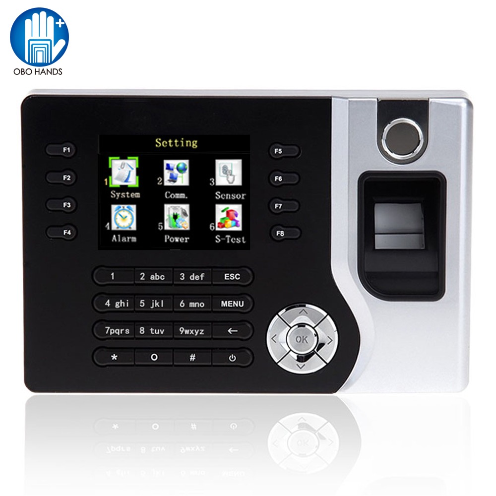 Realand Fingerprint Biometric Time Attendance System Time Clock Recorder Support USB for Office Employee Multi Language A-C071 biometric fingerprint time clock recorder machine electronic employee office attendance system