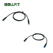 BOLLFIT Bafang  Display Extension Cable  For Bafang Center Motor/Mid Drive Motor Kit Bicycle Kit Component BBS01 BBS02B BBSHD free shipping 2018 new design bafang bbs tool for mid motor install 8fun bbs01 bbs02 bbshd mid drive motor