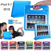 3D Children Kids Safe Shockproof EVA Foam Stand Case Cover Skin For New IPad 2017 9
