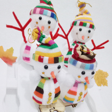 High Quality New Gift Snowman Doll Christmas Tree Hanging Ornament